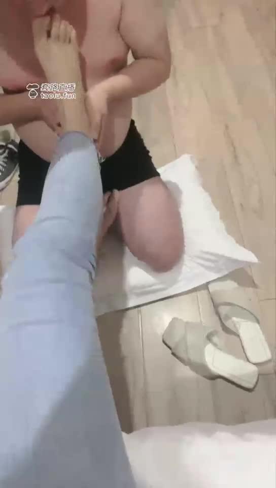 HD, foot licking clip