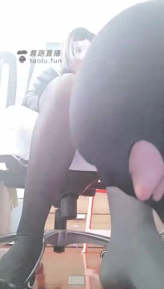 Fucking friend husband, male slave licking feet, black silk