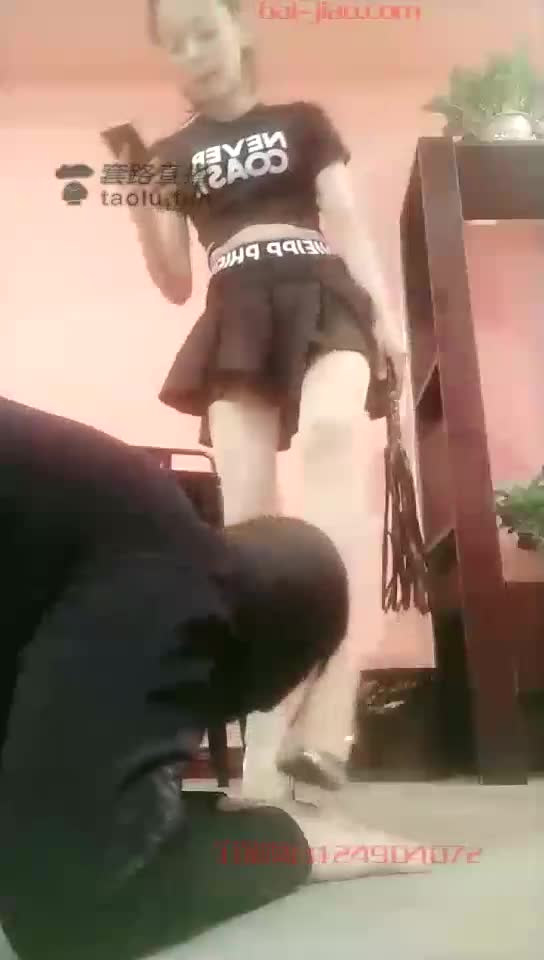 Playing with dogs, kicking crotch, stepping