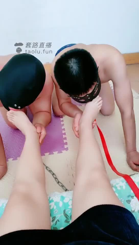 Femdom Twin Slaves