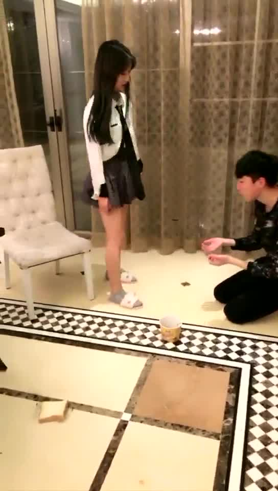 Golden toast, holy water humiliation
