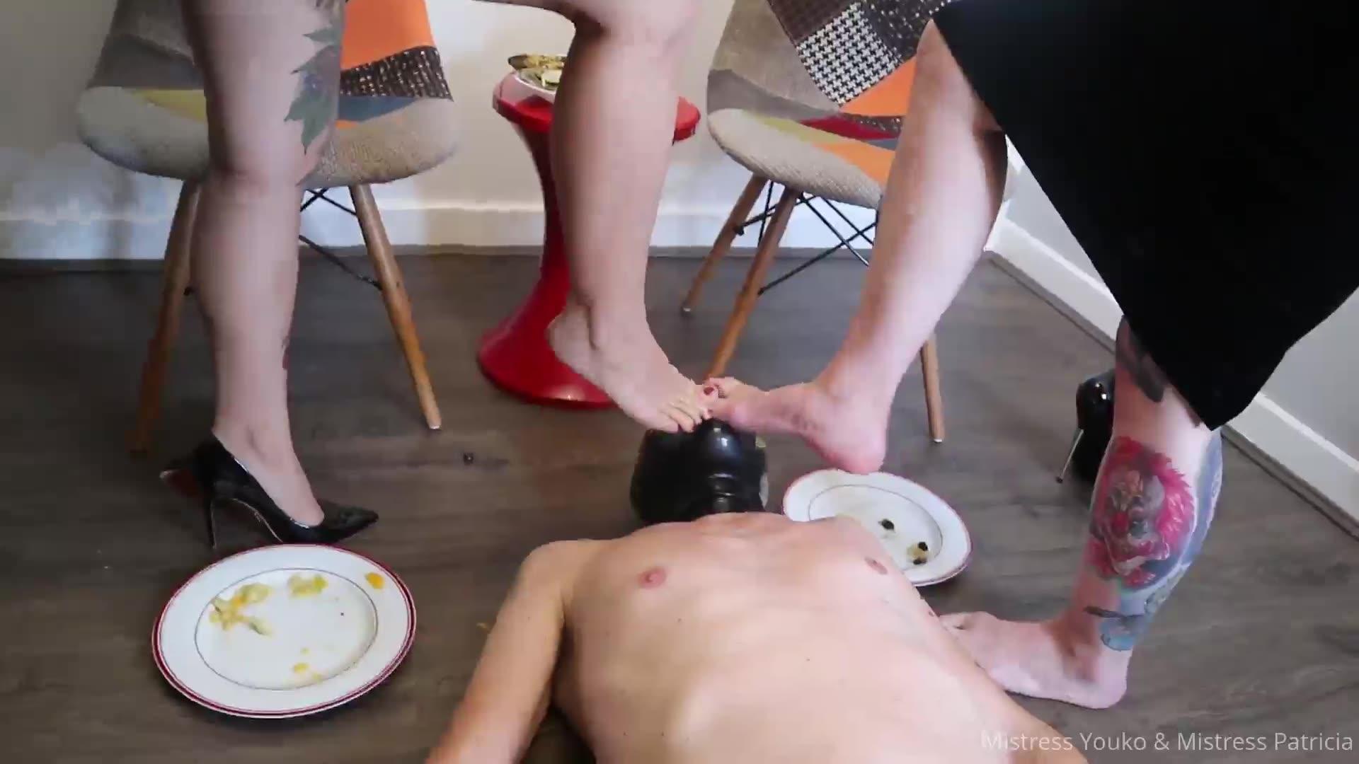 Foot feeding