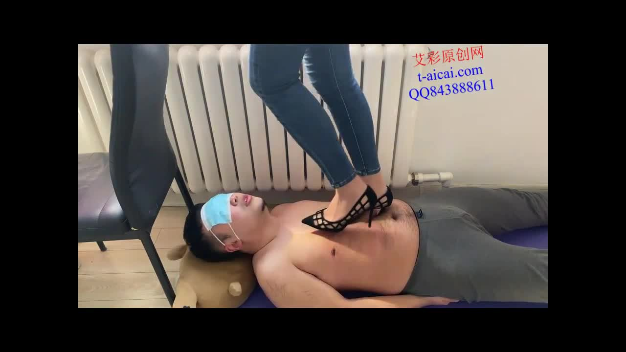 A day at home shoe slave