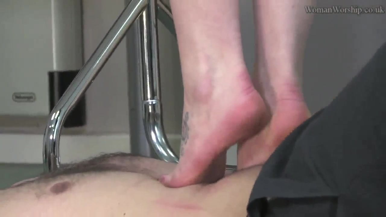 Smell and lick the boss's feet
