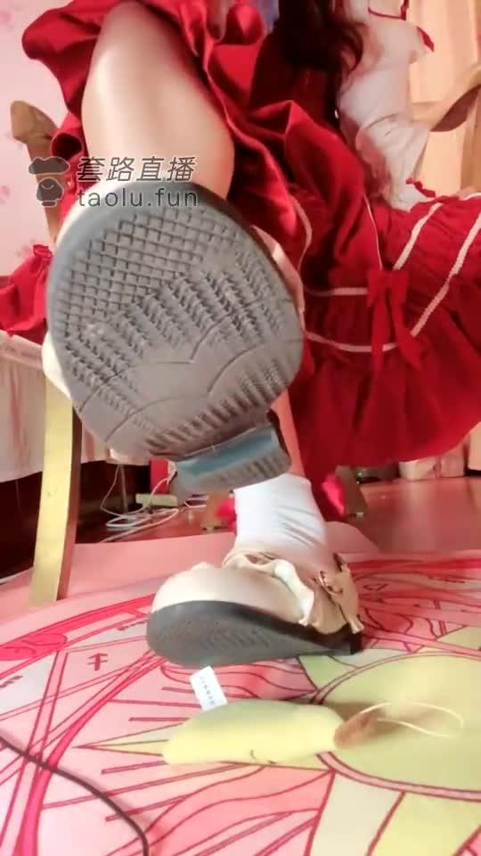 White shoes white socks loli humiliation