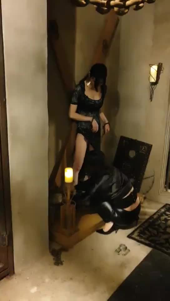 Torture frame whipped female slave, dripping wax